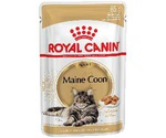 Влажный Корм Для Крупных Кошек Породы Мейн-Кун Royal Canin (Роял Канин) Feline Breed Nutrition Maine Coon Wet Аппетитные Кусочки в Соусе 85г