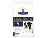 Hills (Хиллс) Prescription Diet Z/D Food Sensitivities Лечебный Сухой Корм Для Собак Для Поддержания Здоровья Кожи и При Пищевой Аллергии 10кг (1*1)