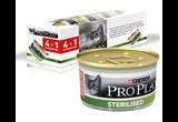 Консервы ProPlan (ПроПлан) Sterilised Для Кастрированных Котов и Стерилизованных Кошек Лосось с Тунцом 85г 4+1! АКЦИЯ!