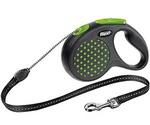 Рулетка Для Собак Средних Пород Flexi (Флекси) Design M До 20кг Трос 5м Зеленый
