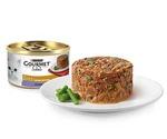 Консервы Gourmet (Гурме) Gold Для Кошек Нежные Биточки Ягненок и Фасоль 85г (1*12)