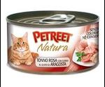 Консервы Petreet (Петрит) Pink Tuna Lobster Surimi Для Кошек Кусочки Розового Тунца с Лобстером 70г