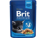 Влажный Корм Brit (Брит) Для Котят Курица Premium Chicken Chunks 100 г
