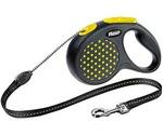 Рулетка Для Собак Средних Пород Flexi (Флекси) Design M До 20кг Трос 5м Желтый