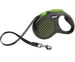 Рулетка Для Собак Мелких Пород Flexi (Флекси) Design S До 15кг Ремень 5м Зеленый