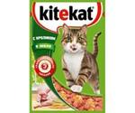Влажный Корм Kitekat (Китекат) Для Кошек Кролик в Желе 85г (1*24)