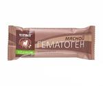 Лакомство Для Собак TiTBiT (Титбит) Гематоген Мясной Vitamin 35г