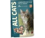 Влажный Корм All Cats (Олл Кэтс) Для Кошек Говядина в Соусе 85г (1*25)