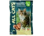 Влажный Корм All Cats (Олл Кэтс) Для Кошек Кролик в Соусе 85г (1*25)