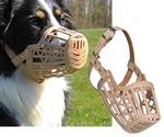 Намордник Для Собак Trixie (Трикси) Пластик Бежевый 22см M №4 17604