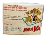 Пеленки Brava (Брава) Впитывающие Одноразовые 60*60см 30шт /8/