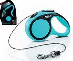 Рулетка Для Кошек и Собак Мелких Пород Flexi (Флекси) Трос 3м До 8кг New Comfort XS Синий
