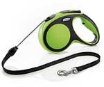 Рулетка Для Собак Средних Пород Flexi (Флекси) Трос 5м До 20кг New Comfort M Зеленый