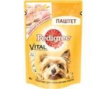 Влажный Корм Pedigree (Педигри) Для Собак Мелких Пород Ягненок в Соусе Vital Protection 85г