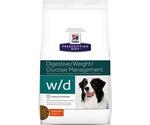 Hills (Хиллс) Prescription Diet w/d Digestive/Weight Management Лечебный Сухой Корм Для Собак Для Поддержания Оптимального Веса и Здоровья При Сахарном Диабете Курица 1,5кг