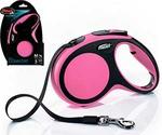 Рулетка Для Собак Мелких Пород Flexi (Флекси) Ремень 5м До 15кг New Comfort S Розовый