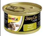 Консервы Для Кошек Gimpet (Джимпет) Тунец и Травка ShinyCat Tuna & Grass 70г