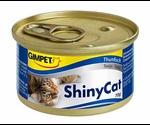 Консервы Gimpet (Джимпет) ShinyCat Tuna Для Кошек Тунец 70г