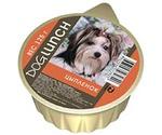 Консервы Для Собак Dog Lunch (Дог Ланч) Цыпленок Крем-Суфле 125г Ламистер