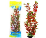 Растение Для Аквариума Людвигия Красно-Зеленая Пластиковое 10см М030/10 919175