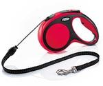 Рулетка Для Собак Мелких Пород Flexi (Флекси) Трос 5м До 12кг New Comfort S Красный