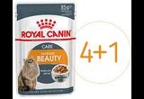 Влажный Корм Royal Canin (Роял Канин) Для Кошек Кусочки в Соусе Feline Health Nutrition Intense Beauty Gravy 85г 4 + 1 АКЦИЯ