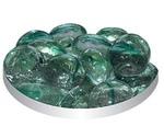 Грунт Для Аквариума Triton (Тритон) №119 Стеклянный Плоский Кошачий Глаз Зеленый 170г