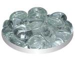 Грунт Для Аквариума Triton (Тритон) Стеклянный Плоский Кошачий Глаз Белый №122 170г