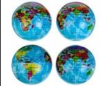 Игрушка Для Кошек Brava (Брава) Мяч Зефирный Карта Мира 6,3см 2610014