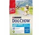 Сухой Корм Dog Chow (Дог Чау) Для Щенков Крупных Пород Индейка Puppy Large Breed 2кг + 500г АКЦИЯ