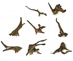 Коряга Для Аквариума и Террариума Udeco Chinese Driftwood Китайская L 30-70см Udc10360