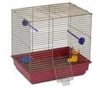 Клетка Для Птиц Квадратная Велес 42*30*40см Lusy Bird 501