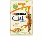 Влажный Корм Cat Chow (Кэт Чау) Для Кошек Курица и Кабачки в Желе Adult 85г (1*24)