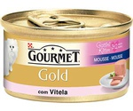 Консервы Для Котят Gourmet (Гурме) Gold Паштет с Телятиной 85г