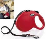 Рулетка Для Собак Средних Пород Flexi (Флекси) Ремень 5м До 25кг New Classic M Красный