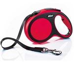 Рулетка Для Собак Мелких Пород Flexi (Флекси) Ремень 5м До 15кг New Comfort S Красный