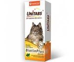 Паста Для Кошек Unitabs (Юнитабс) Для Кожи и Шерсти Биотин и Таурин Biotinplus 120мл U305