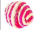 Игрушка Для Кошек BraVa (Брава) Мяч Полосатик 5см Сизаль 2640857