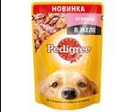 Влажный Корм Pedigree (Педигри) Для Собак Ягненок в Желе 100г (1*24)