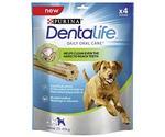 Лакомство Для Собак Крупных Пород Dentalife Large Purina Уход За Полостью Рта 25-40кг 142г