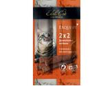 Лакомство Для Кошек Колбаски-Мини Edel Cat (Эдель Кэт) Телятина + Ливерная Колбаса (1*2)