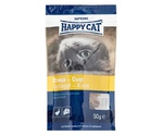 Лакомство Для Кошек Happy Cat (Хэппи Кэт) Лакомое Угощение Птица и Сыр 50г