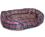 Лежак Для Собак Titbit (Титбит) С Наполнителем Из Лузги Гричихи 70*45см