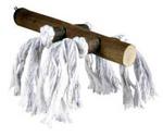 Жердочка Для Птиц Trixie (Трикси) Деревянная с Веревкой 20см 5888
