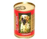 Консервы Dog Lunch (Дог Ланч) Для Собак Говядина в Желе 410г