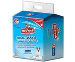 Пеленки Для Собак и Кошек Mr.Fresh (Мистер Фреш) Expert Regular 60*90см 16шт F503