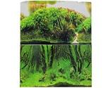 Фон Для Аквариума Двусторонний Prime (Прайм) Коряги с Растениями/Растительные Холмы 50*100см Pr-002194