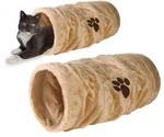 Тоннель Для Кошки Trixie (Трикси) Плюш 60см*22см Бежевый 42981