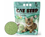 Наполнитель Для Кошачьего Туалета Cat Step Tofu Green Tea Растительный Комкующийся 6л