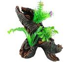 Коряга Для Аквариума Marlin (Марлин) с Растениями 23*15*22см Ym-762